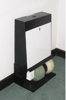 Shoe shine polisher Freestanding